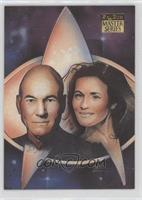 Picard and Vash