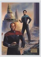 Commander Benjamin Sisko, Jadzia Dax