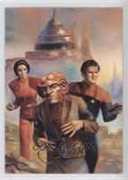 Quark, Major Kira Nerys, Chief Miles O'Brien