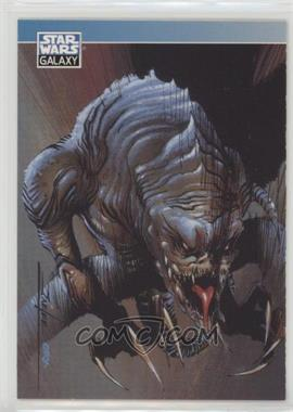1994 Topps Star Wars Galaxy Series 2 - Promos #P1 - Rancor