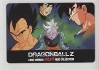 Vegeta, Gohan, Supreme Kai, Goku