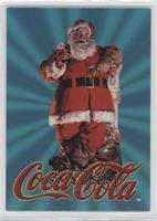 Santa Takes a Coke Break