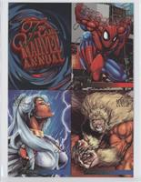 Spider-Man, Storm, Sabretooth
