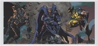 Batman, Dark Claw, Wolverine
