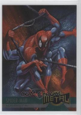 1995 Fleer Marvel Metal - [Base] #134 - Spider-Man