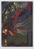 Hulk, Spider-Man, Iron Man