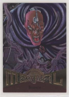 1995 Fleer Marvel Metal - [Base] #2 - Bishop