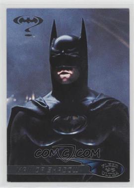 1995 Fleer Ultra Batman Forever - [Base] #96 - Man of Shadow