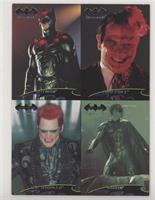 Batman, Two-Face, Riddler, Robin [GoodtoVG‑EX]