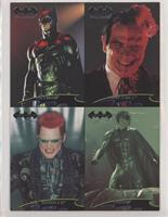 Batman, Two-Face, Riddler, Robin [EX to NM]