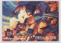 Greatest Battles - Cyber VS Wolverine