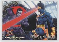 Greatest Battles - Cyclops, Mr. Sinister [Noted]