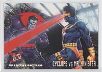 Greatest Battles - Cyclops, Mr. Sinister