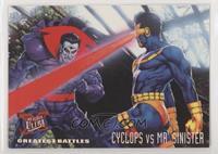 Greatest Battles - Cyclops, Mr. Sinister