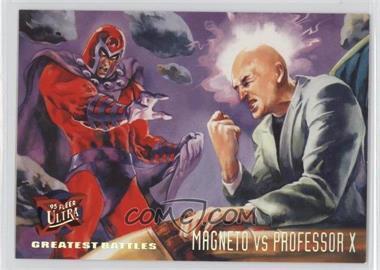 1995 Fleer Ultra X-Men - [Base] #133 - Greatest Battles - Magneto VS