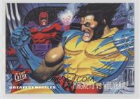 Greatest Battles - Magneto VS Wolverine