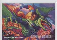 Greatest Battles - Sauron, Wolverine