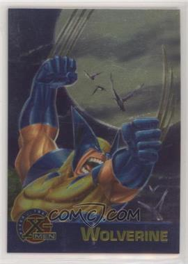 1995 Fleer Ultra X-Men All-Chromium - Promos #WOLV - Wolverine [EX to NM]