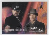 Commander William Riker - Card B