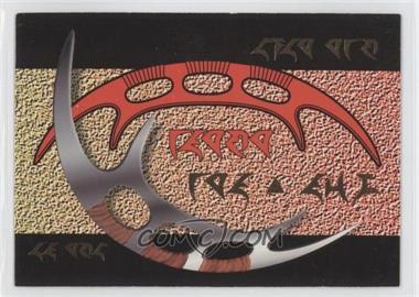1995 SkyBox Star Trek The Next Generation Season 2 - Klingon Cards #S8 - Bat'telh - Klingon Sword of Honor