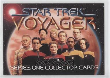 1995 SkyBox Star Trek: Voyager Season One Series 1 - Promos #T1 - Voyager Crew