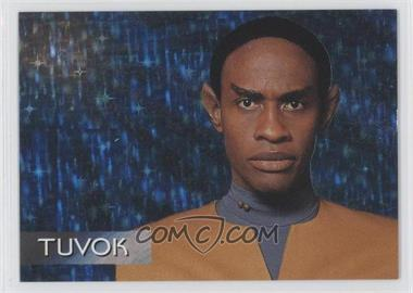 1995 SkyBox Star Trek: Voyager Season One Series 1 - Spectra-Etch Crew #S3 - Tuvok