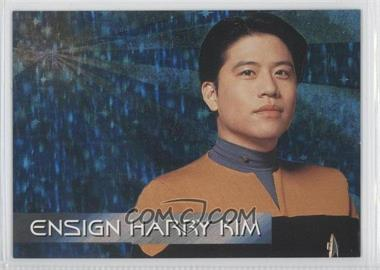 1995 SkyBox Star Trek: Voyager Season One Series 1 - Spectra-Etch Crew #S6 - Ensign Harry Kim