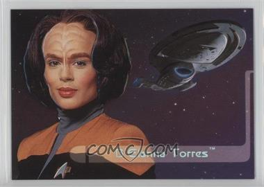 1995 SkyBox Star Trek: Voyager Season One Series 2 - Embossed Crew #E4 - B'Elanna Torres