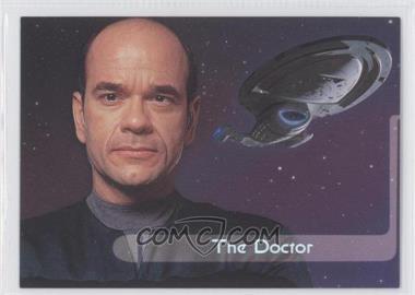 1995 SkyBox Star Trek: Voyager Season One Series 2 - Embossed Crew #E7 - The Doctor