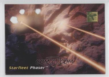 1995 Skybox 30 Years of Star Trek Phase 1 - Die-Cut #D2 - Starfleet Phaser