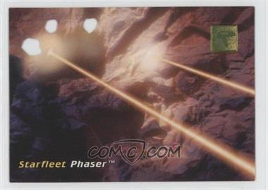 1995 Skybox 30 Years of Star Trek Phase 1 - Die-Cut #D2 - Starfleet Phaser