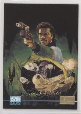 1995 Topps Star Wars Galaxy Series 3 - [Base] - 1st Day Production #300 - Lando Calrissian