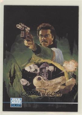 1995 Topps Star Wars Galaxy Series 3 - [Base] #300 - Lando Calrissian
