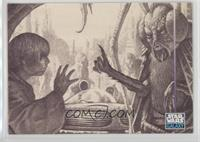 Luke and Insectoid