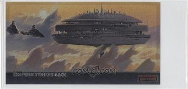 1995 Topps Star Wars: The Empire Strikes Back Widevision - Finest Chromium #C-7 - The Majestic Cloud City Of Bespin...