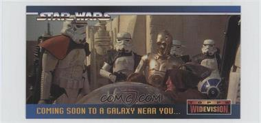 1995 Topps Star Wars Widevision - Promos #SWP1 - Star Wars