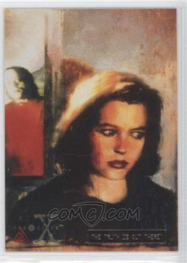 1995 Topps The X Files Season 1 - [Base] - Gold The Truth is Out There #22 - [Missing]