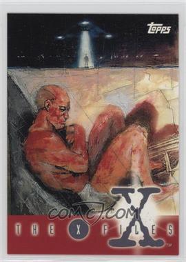 1995 Topps The X Files Season 1 - Promos #P4 - Fetal Position