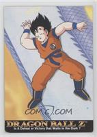 Goku was heading to King Kai's…