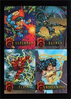Superman, Batman, Flash, Wonder Woman [Noted]