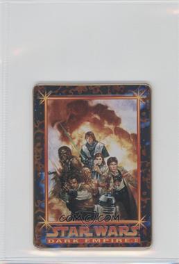 1996 Metallic Impressions Star Wars Dark Empire II - [Base] #6 - Hand of Darkness