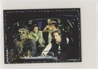 Chewbacca, Leia Organa, C-3PO, Luke Skywalker, Han Solo