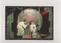 Leia Organa, R2-D2