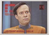 Personnel - Lieutenant Reginald Barclay