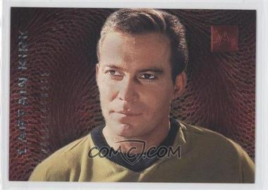 1996 SkyBox 30 Years of Star Trek Phase 2 - Doppelgangers #F1 - Captain Kirk