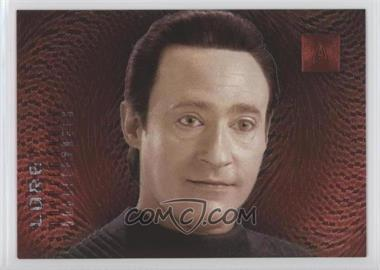 1996 SkyBox 30 Years of Star Trek Phase 2 - Doppelgangers #F6 - Lore, Data