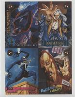 Spider-Man, Judas Traveller, She-Venom, Malcolm McBride [Noted]