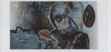 1996 SkyBox Star Trek: First Contact Cinema Collection - Techno-Cell Borg #B5 - Bolian Borg