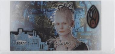 1996 SkyBox Star Trek: First Contact Cinema Collection - Techno-Cell Borg #B7 - Borg Queen