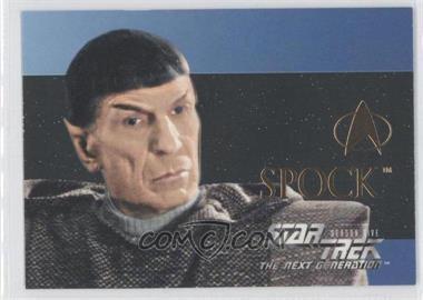 1996 SkyBox Star Trek The Next Generation Season 5 - [???] #S29 - Spock